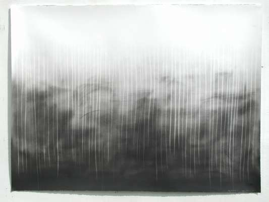 big picture V, 56 x 75cm, charcoal on paper