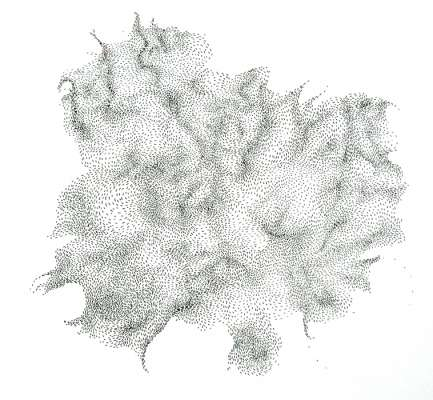 drawing 2, 30 x 30cm, ink on paper  NFS